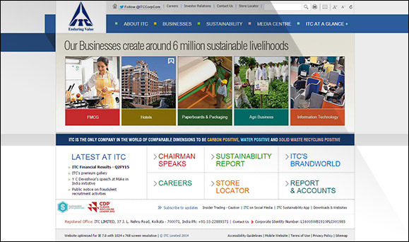 itc case studies Icmr home | case studies collection to download sustainability initiatives at itc ltd case study (case code: becg086) click on the button below, and select the case.